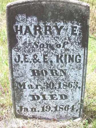 KING, HARRY E - Warren County, New York   HARRY E KING - New York Gravestone Photos