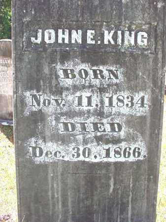 KING, JOHN E - Warren County, New York | JOHN E KING - New York Gravestone Photos