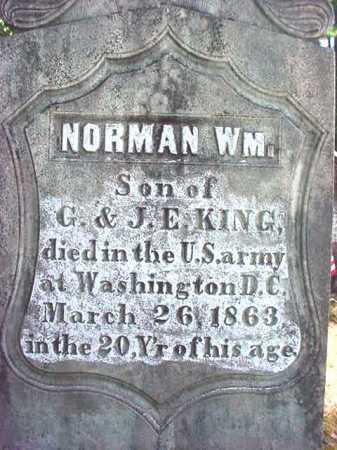 KING (CW), NORMAN WILLIAM - Warren County, New York | NORMAN WILLIAM KING (CW) - New York Gravestone Photos