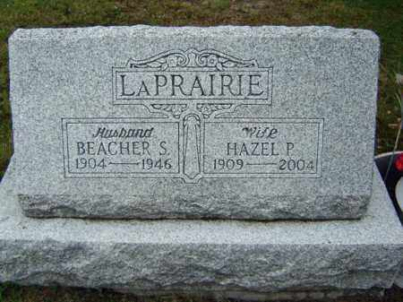 LA PRAIRIE, BEACHER S - Warren County, New York | BEACHER S LA PRAIRIE - New York Gravestone Photos