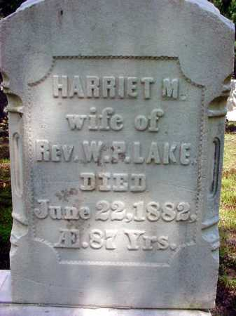 LAKE, HARRIET - Warren County, New York | HARRIET LAKE - New York Gravestone Photos