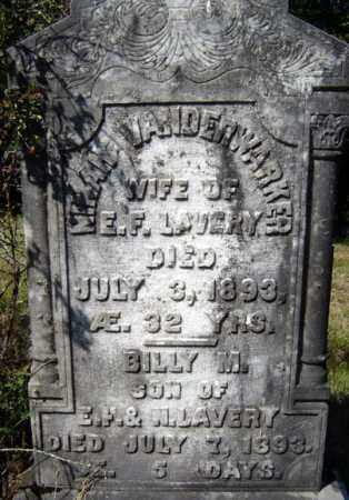 LAVERY, BILLY M - Warren County, New York | BILLY M LAVERY - New York Gravestone Photos