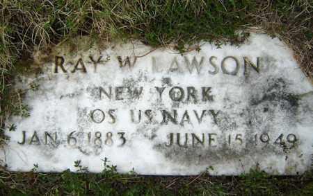 LAWSON, RAY W - Warren County, New York | RAY W LAWSON - New York Gravestone Photos
