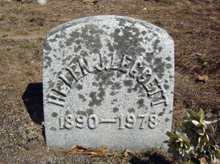 LEGGETT, HELEN J - Warren County, New York | HELEN J LEGGETT - New York Gravestone Photos