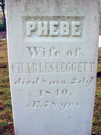LEGGETT, PHEBE - Warren County, New York | PHEBE LEGGETT - New York Gravestone Photos