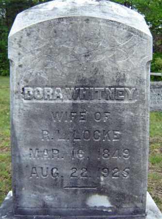 LOCKE, DORA - Warren County, New York | DORA LOCKE - New York Gravestone Photos