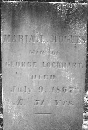 HUGHES LOCKHART, MARIA L - Warren County, New York | MARIA L HUGHES LOCKHART - New York Gravestone Photos