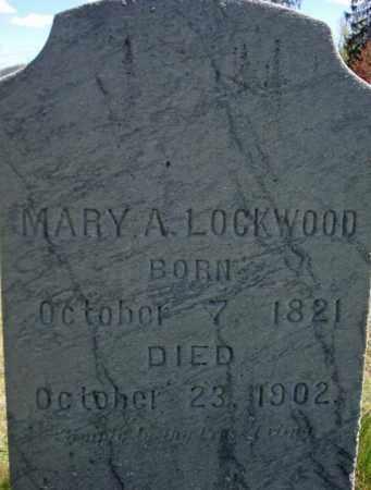 LOCKWOOD, MARY - Warren County, New York | MARY LOCKWOOD - New York Gravestone Photos