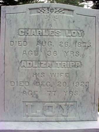 LOY, CHARLES - Warren County, New York | CHARLES LOY - New York Gravestone Photos