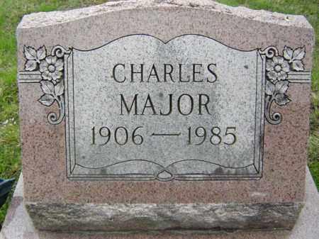 MAJOR, CHARLES - Warren County, New York   CHARLES MAJOR - New York Gravestone Photos