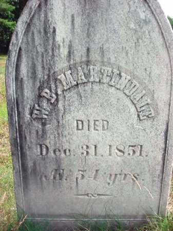 MARTINDALE, W B - Warren County, New York | W B MARTINDALE - New York Gravestone Photos