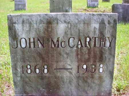 MCCARTHY, JOHN - Warren County, New York | JOHN MCCARTHY - New York Gravestone Photos