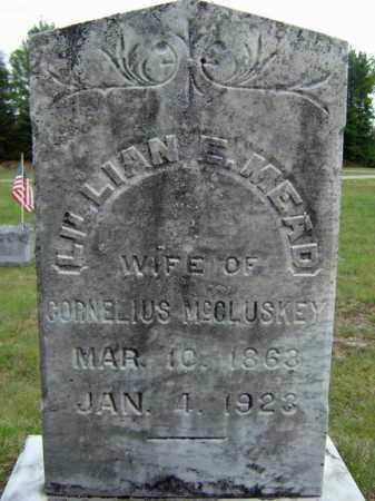 MCCLUSKEY, LILLIAN E - Warren County, New York   LILLIAN E MCCLUSKEY - New York Gravestone Photos
