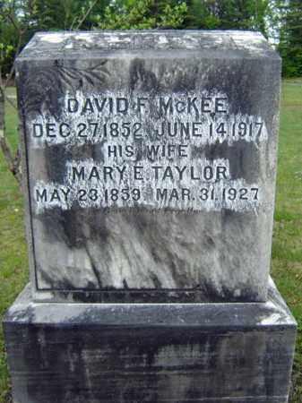 TAYLOR MCKEE, MARY E - Warren County, New York | MARY E TAYLOR MCKEE - New York Gravestone Photos