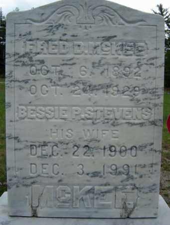 STEVENS, BESSIE P - Warren County, New York   BESSIE P STEVENS - New York Gravestone Photos