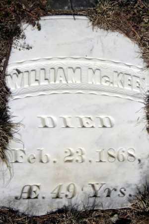 MCKEE, WILLIAM - Warren County, New York   WILLIAM MCKEE - New York Gravestone Photos