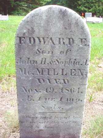 MCMILLEN, EDWARD E - Warren County, New York | EDWARD E MCMILLEN - New York Gravestone Photos