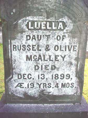 MCALLEY, LUELLA - Warren County, New York   LUELLA MCALLEY - New York Gravestone Photos