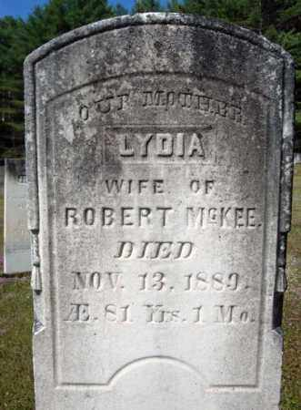 MCKEE, LYDIA - Warren County, New York | LYDIA MCKEE - New York Gravestone Photos