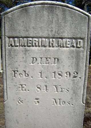 MEAD, ALMERIN H - Warren County, New York   ALMERIN H MEAD - New York Gravestone Photos