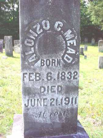 MEAD, ALONZO C - Warren County, New York | ALONZO C MEAD - New York Gravestone Photos