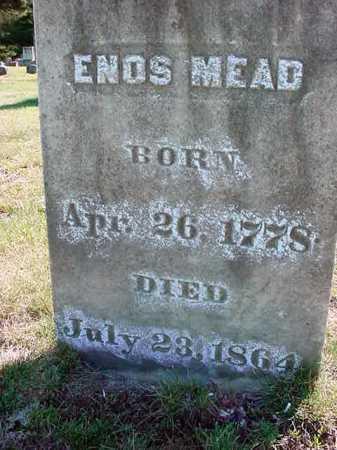 MEAD, ENOS - Warren County, New York | ENOS MEAD - New York Gravestone Photos