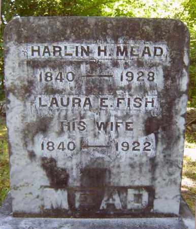 MEAD, HARLIN H - Warren County, New York | HARLIN H MEAD - New York Gravestone Photos