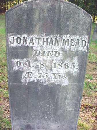 MEAD, JONATHAN - Warren County, New York   JONATHAN MEAD - New York Gravestone Photos