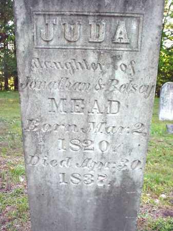 MEAD, JUDA - Warren County, New York | JUDA MEAD - New York Gravestone Photos