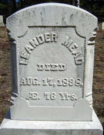 MEAD, LEANDER - Warren County, New York | LEANDER MEAD - New York Gravestone Photos