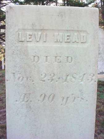 MEAD, LEVI - Warren County, New York   LEVI MEAD - New York Gravestone Photos