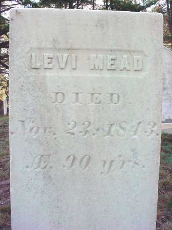 MEAD, LEVI - Warren County, New York | LEVI MEAD - New York Gravestone Photos