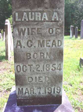 MEAD, LAURA A - Warren County, New York | LAURA A MEAD - New York Gravestone Photos
