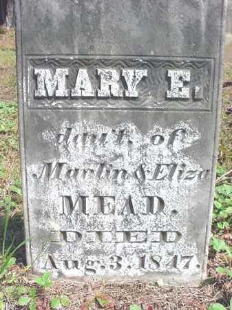 MEAD, MARY E - Warren County, New York   MARY E MEAD - New York Gravestone Photos