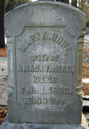 MEAD, MARY A - Warren County, New York | MARY A MEAD - New York Gravestone Photos