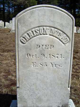 MEAD, ORRISON - Warren County, New York   ORRISON MEAD - New York Gravestone Photos