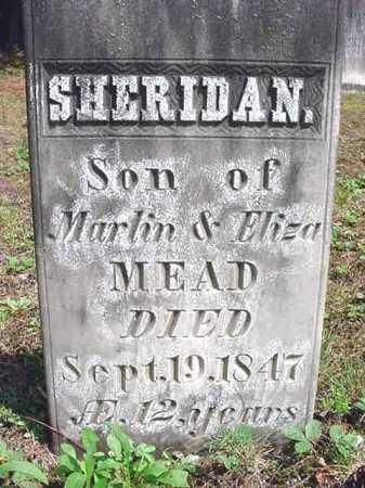 MEAD, SHERIDAN - Warren County, New York | SHERIDAN MEAD - New York Gravestone Photos