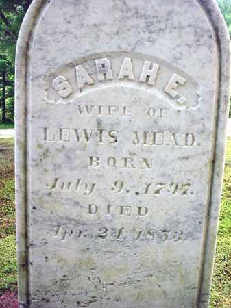 MEAD, SARAH E - Warren County, New York   SARAH E MEAD - New York Gravestone Photos