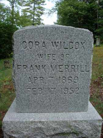 WILCOX, CORA - Warren County, New York | CORA WILCOX - New York Gravestone Photos