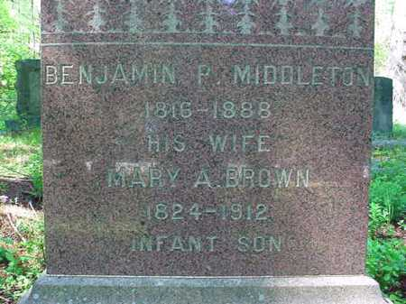 BROWN MIDDLETON, MARY A - Warren County, New York | MARY A BROWN MIDDLETON - New York Gravestone Photos