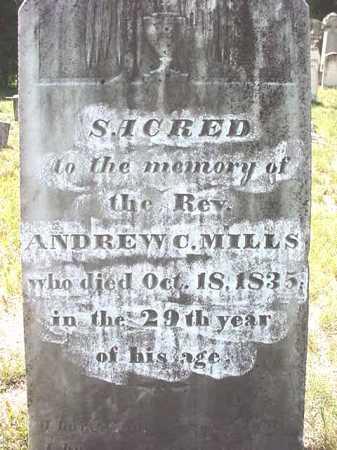 MILLS, ANDREW C. - Warren County, New York   ANDREW C. MILLS - New York Gravestone Photos
