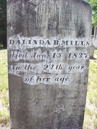 MILLS, DALINDA B - Warren County, New York | DALINDA B MILLS - New York Gravestone Photos