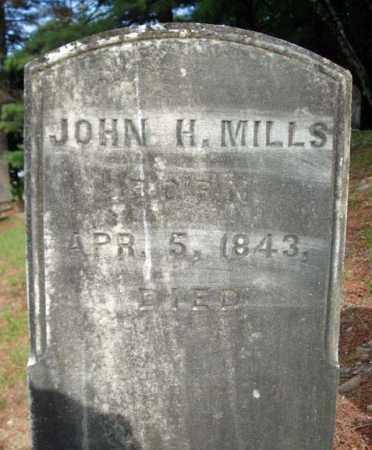 MILLS, JOHN H - Warren County, New York | JOHN H MILLS - New York Gravestone Photos