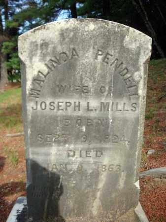 MILLS, MALINDA - Warren County, New York   MALINDA MILLS - New York Gravestone Photos
