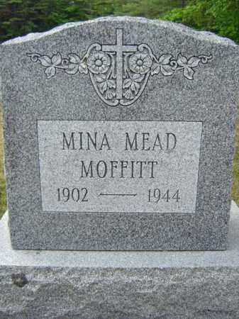 MEAD MOFFITT, MINA - Warren County, New York | MINA MEAD MOFFITT - New York Gravestone Photos
