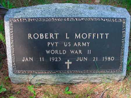 MOFFITT, ROBERT L - Warren County, New York | ROBERT L MOFFITT - New York Gravestone Photos