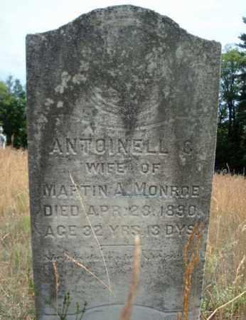 MONROE, ANTOINELL C - Warren County, New York | ANTOINELL C MONROE - New York Gravestone Photos