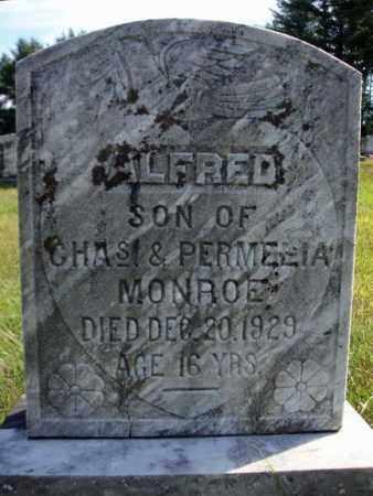 MONROE, ALFRED - Warren County, New York   ALFRED MONROE - New York Gravestone Photos
