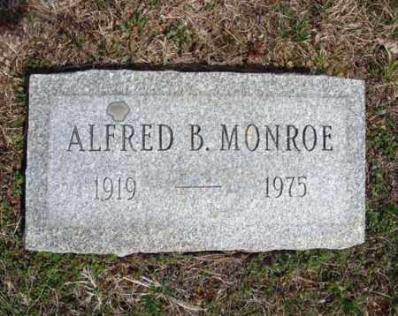 MONROE, ALFRED B - Warren County, New York | ALFRED B MONROE - New York Gravestone Photos
