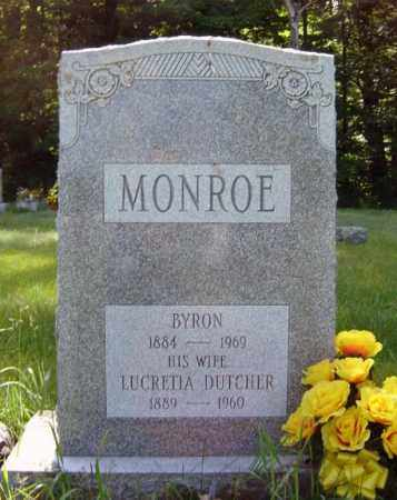MONROE, BYRON - Warren County, New York | BYRON MONROE - New York Gravestone Photos